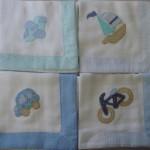 bebê toalhas