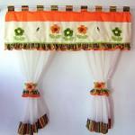 cortina laranja